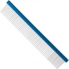 "10"" Aluminum Finishing Comb with blue spine"